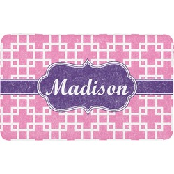 Linked Squares Bath Mat (Personalized)