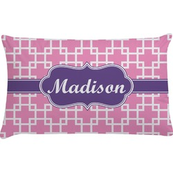 Linked Squares Pillow Case (Personalized)