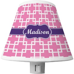 Linked Squares Shade Night Light (Personalized)