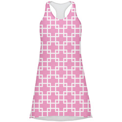 Linked Squares Racerback Dress (Personalized)