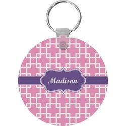Linked Squares Keychains - FRP (Personalized)