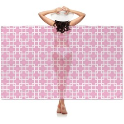 Linked Squares Sheer Sarong (Personalized)