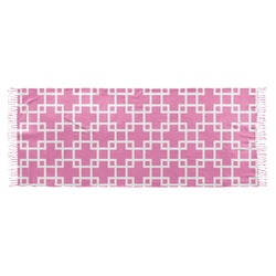 Linked Squares Faux Pashmina Scarf (Personalized)