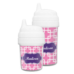 Linked Squares Sippy Cup (Personalized)