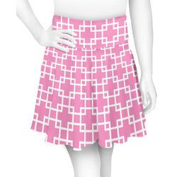 Linked Squares Skater Skirt (Personalized)