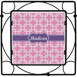 Linked Squares Square Trivet (Personalized)