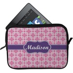 Linked Squares Tablet Case / Sleeve (Personalized)