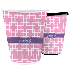 Linked Squares Waste Basket (Personalized)