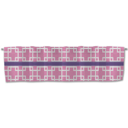Linked Squares Valance (Personalized)