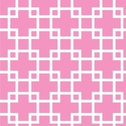 """Linked Squares Wallpaper & Surface Covering (Peel & Stick 24""""x 24"""" Sample)"""