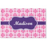 Linked Squares Woven Mat (Personalized)