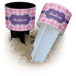 Linked Squares Beach Spiker Drink Holder (Personalized)