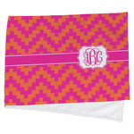 Pink & Orange Chevron Cooling Towel (Personalized)