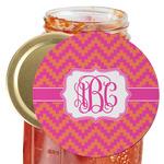Pink & Orange Chevron Jar Opener (Personalized)
