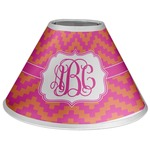 Pink & Orange Chevron Coolie Lamp Shade (Personalized)