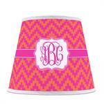 Pink & Orange Chevron Empire Lamp Shade (Personalized)