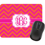 Pink & Orange Chevron Mouse Pads (Personalized)
