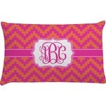 Pink & Orange Chevron Pillow Case (Personalized)