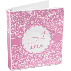 Floral Vine 3-Ring Binder (Personalized)