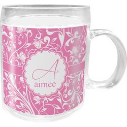 Floral Vine Acrylic Kids Mug (Personalized)