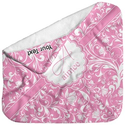 Floral Vine Baby Hooded Towel (Personalized)