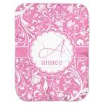 Floral Vine Baby Swaddling Blanket (Personalized)