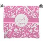Floral Vine Bath Towel (Personalized)