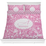 Floral Vine Comforter Set (Personalized)