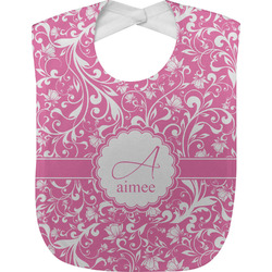Floral Vine Baby Bib (Personalized)
