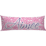 Floral Vine Body Pillow Case (Personalized)