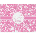 Floral Vine Placemat (Fabric) (Personalized)