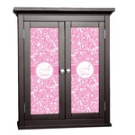 Floral Vine Cabinet Decal - Custom Size (Personalized)