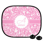 Floral Vine Car Side Window Sun Shade (Personalized)