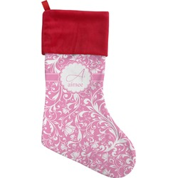 Floral Vine Christmas Stocking (Personalized)