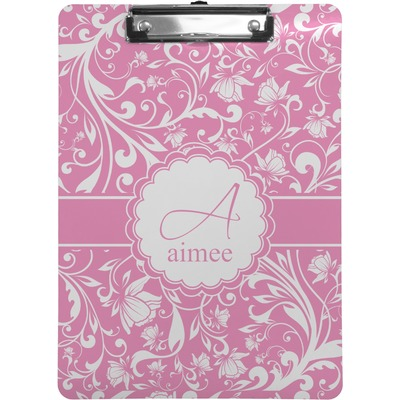 Floral Vine Clipboard (Personalized)
