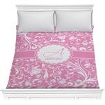Floral Vine Comforter (Personalized)
