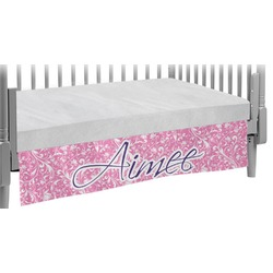 Floral Vine Crib Skirt (Personalized)