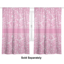 "Floral Vine Curtains - 56""x80"" Panels - Lined (2 Panels Per Set) (Personalized)"