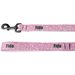 Floral Vine Deluxe Dog Leash (Personalized)