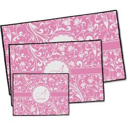 Floral Vine Door Mat (Personalized)