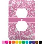 Floral Vine Electric Outlet Plate (Personalized)