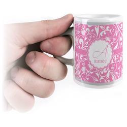 Floral Vine Espresso Mug - 3 oz (Personalized)