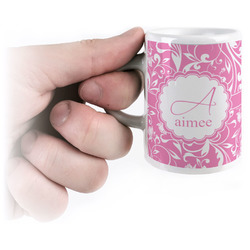 Floral Vine Espresso Cups (Personalized)