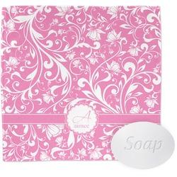 Floral Vine Wash Cloth (Personalized)