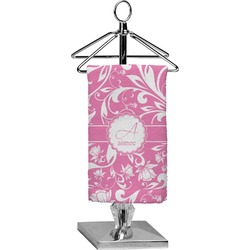 Floral Vine Finger Tip Towel - Full Print (Personalized)