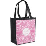 Floral Vine Grocery Bag (Personalized)