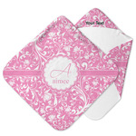 Floral Vine Hooded Baby Towel (Personalized)