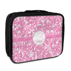 Floral Vine Insulated Lunch Bag (Personalized)