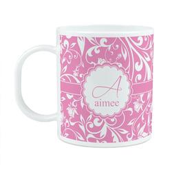 Floral Vine Plastic Kids Mug (Personalized)