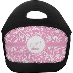 Floral Vine Toddler Lunch Tote (Personalized)